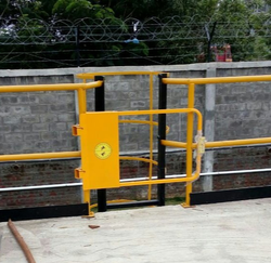 industrial safety swing gate