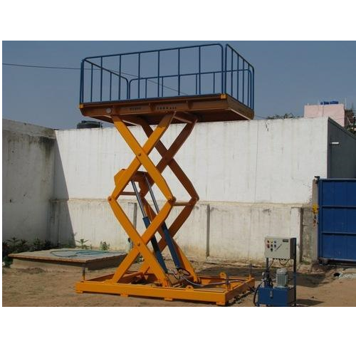 Scissor Lifts - Hydraulic Scissor Lift Table Manufacturer from Bengaluru