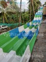 Multilane Water Slides With Sofa Landing
