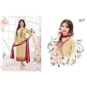 Ladies Georgette Embroidered Suit