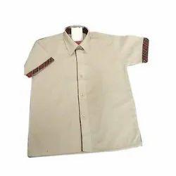 Half Sleeves School Uniform Shirt