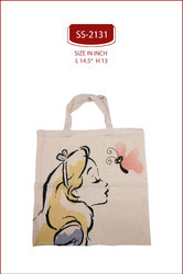 Printed Cloth Bag Cotton Printed Carry Bag
