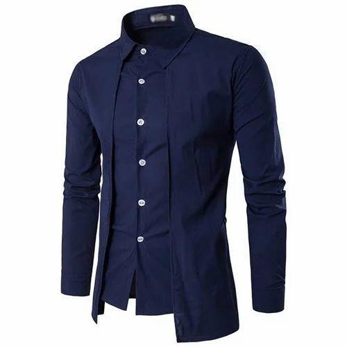 b07f29c74e89 Mens Designer Party Wear Cotton Shirt, Boys Cotton Shirt, Gents ...