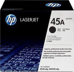 HP Q5945A 45A Black Toner Cartridge