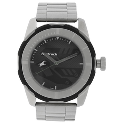 Fastrack Black Dial Analog Watch NK3099SM04