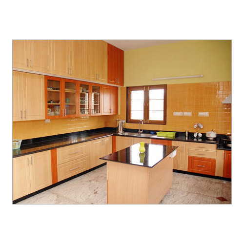 wooden stylish modular kitchen rs 50000 unit robler