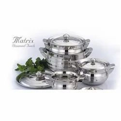 Matrix Diamond Touch Stainless Steel Utensils Set