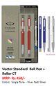 Parker Vector Standard Ball Pen  Roller CT