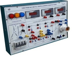 Three Phase Full Wave Rectifier Trainer Kit