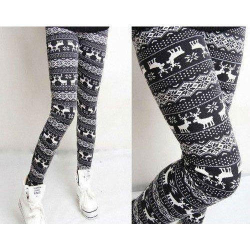 6c4ad8111505 Black, White Straight Fit Girls Printed Legging, Rs 150 /piece   ID ...