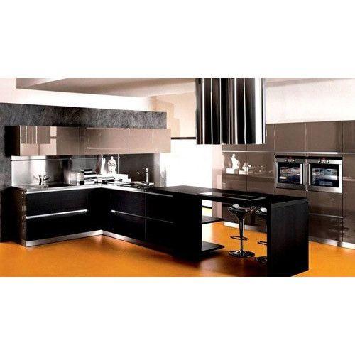 Modern Italian Modular Kitchen Rs 1000 Square Feet Aashita