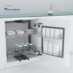 Tandem Pantry Pull Out Wire Base 650600