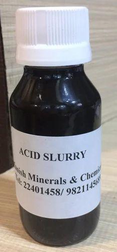 White Phenyl Raw Materials - Acid Slurry 90% Manufacturer
