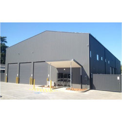 Mild Steel MS Warehouse Shed