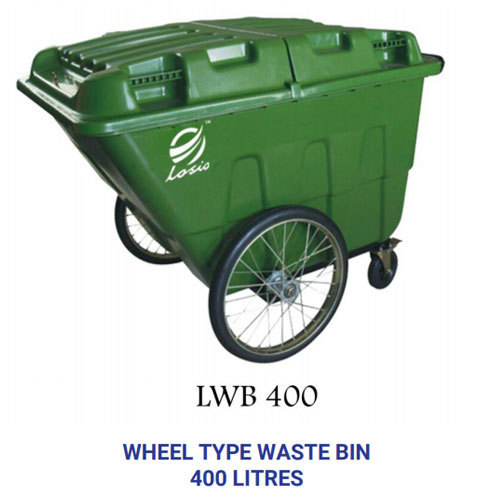 Losio Pvc Wheel Waste Bin