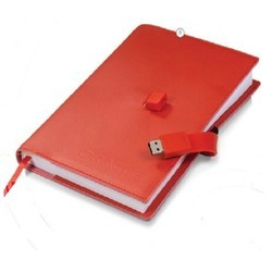 Diary with USB Drive