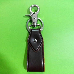 Stylish Leather Key Ring