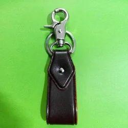 Stylish Leather Key Ring