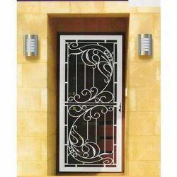 Safety Aluminum Door