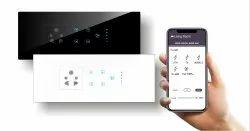 Wireless Grid Smart Touch 4 Switch 1 Fan 1 Socket