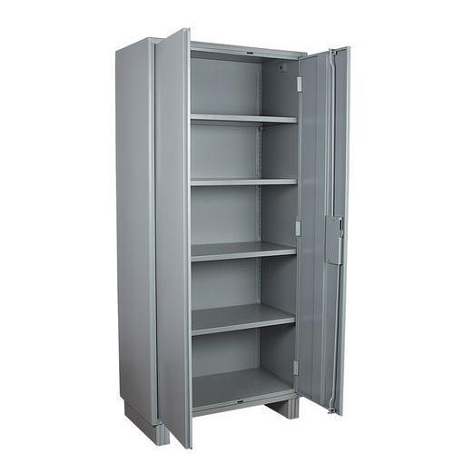Grey Office Cupboard