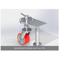 Vertical Type Adjustable PU Wheel