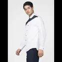 Green Hill Men''S Designer White Triangle Shirt