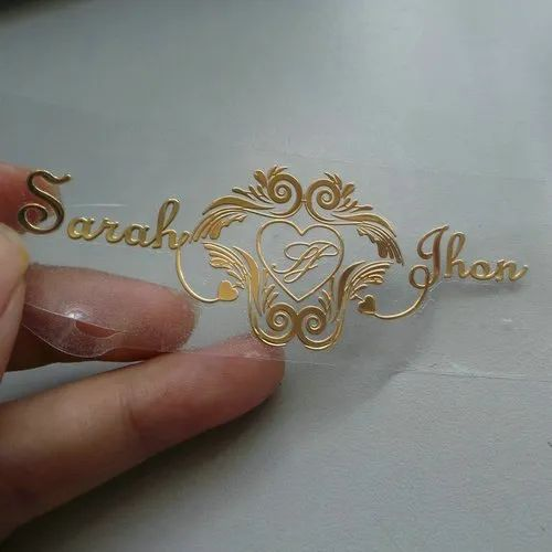 Electroplating Sticker