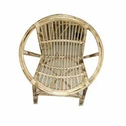 Modern Round Bamboo Chair Rs 3000