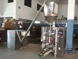 Collar Type Auger Filler Packing Machine With Screw Conveyor
