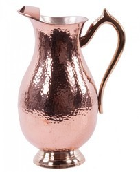 Mughlai Copper Water Jug Vessel