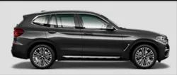 Black BMW X3 Car