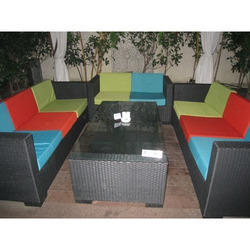 Rattan Wicker Outdoor Sofa Set