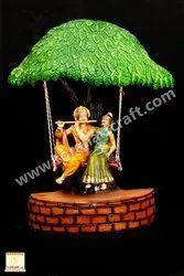 Fiber Mataki Radha Krishna Idol