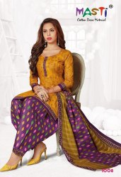 Masti Bul Bul  Printed Cotton Dress Material Catalog