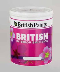 High Gloss 1 Liter British Interior Emulsion Paint