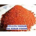 Sai Kiran Velluli Karam Powder, Packaging Size: 100g