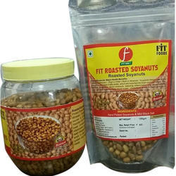 Fit Foods Roasted Soyanuts, Packaging Type: Plastic Box