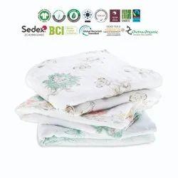 Born Baby Muslin Blankets