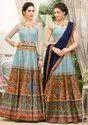 PR Fashion launched Beautiful Designer Two In One Lehenga Choli Cum Gown