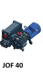 Oil Flooded Rotary Vane Vacuum Pump - JOF40