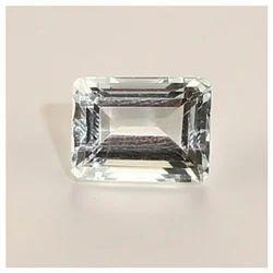 Radiant Shaped Aquamarine Gemstone