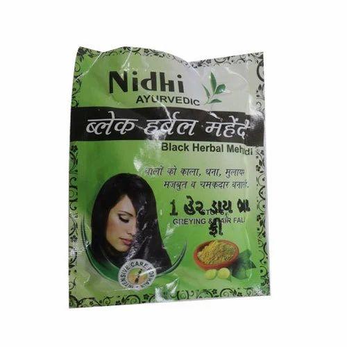 03cf68f4b Black Herbal Mehndi Powder, Pack Size: 100 Gm, Rs 12 /pack   ID ...