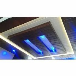 Coated PVC False Ceiling, for Residential, Thickness: 2 mm