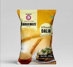 SARASWATI 250 gm Wheat Dalia, High in Protein
