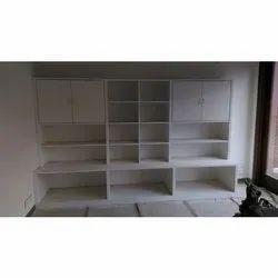Wooden Cube Shelf
