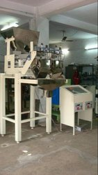 Semi Automatic Two Head Linear Weigh Filler