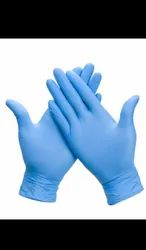 Nitrile Gloves, Size: 7 inches