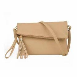 1d2c228a4 PU Leather Tassel Sling Ladies Bag