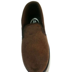 Speed Brown Canvas Shoes